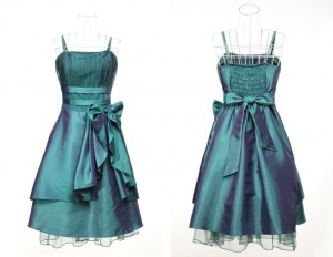 Robe bleue Verte (34/36)